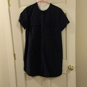 JCrew factory military style dress